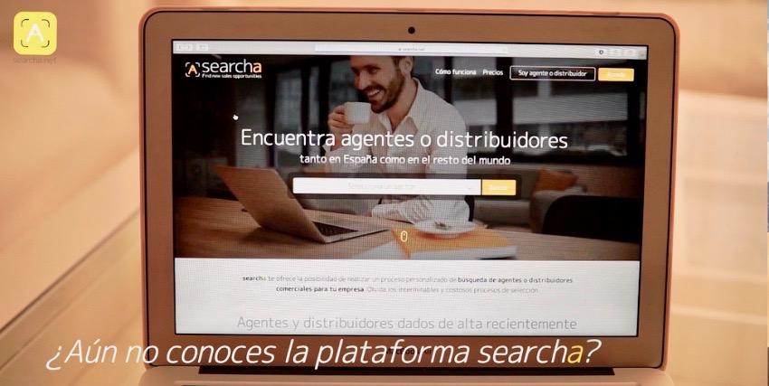Searcha, la plataforma de búsqueda de agentes comerciales.