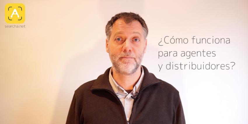 ¿Cómo funciona searcha para agentes comerciales y distribuidores?